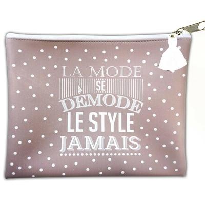 """Pochette """"Texte"""" : La mode se démode Le style Jamais..."""