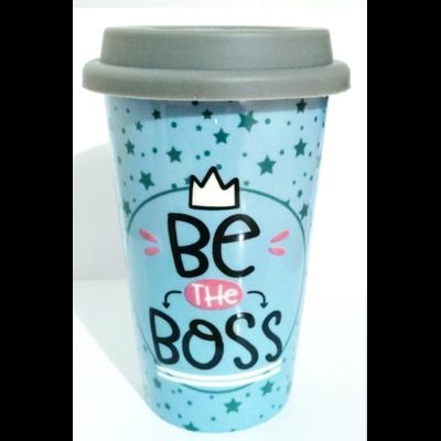 Mug de Voyage coloré : Être the boss