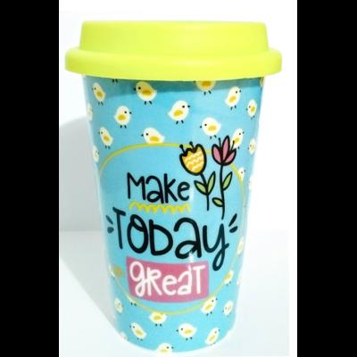 Mug de Voyage coloré : Faire grand aujourd'hui