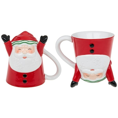 """Mug """"3D"""" Joyeux Père Noël"""