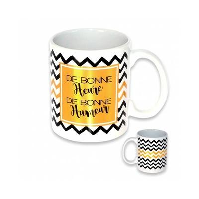 """Mug """"Chic"""" : De bonne heure.. De bonne humeur"""
