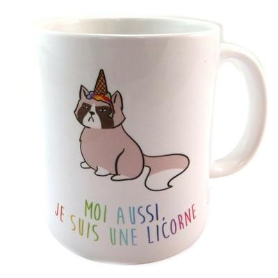 mug licorne joyeux anniversaire art de la table mug tasse lulu shop. Black Bedroom Furniture Sets. Home Design Ideas