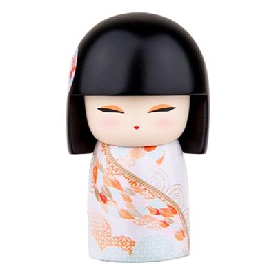 "Poupée japonaise kokeshi Kimmidoll Kome ""Enrichissement"""