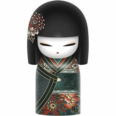 "Poupée japonaise kokeshi Kimmidoll Keiko ""Respect"""
