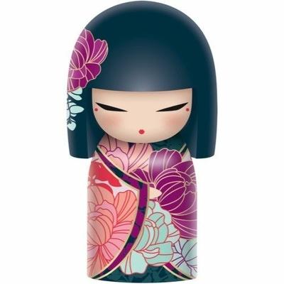 """Poupée japonaise kokeshi Kimmidoll Naomi """"Beauté et Honnêteté"""""""