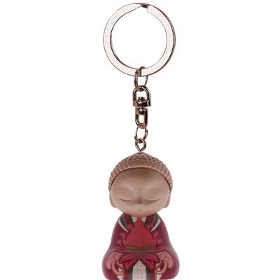 """Porte clés Mini Figurine Little Buddha """"Gratitude"""""""