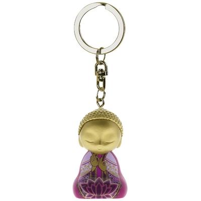 """Porte clés Mini Figurine Little Buddha """"Pensée"""""""