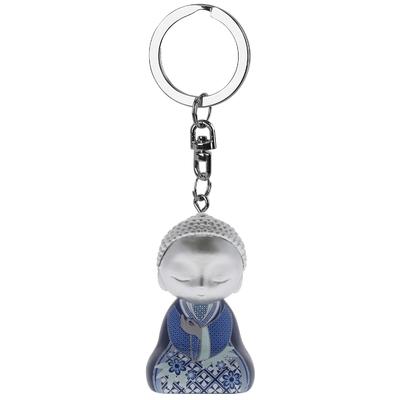 """Porte clés Mini Figurine Little Buddha """"Équilibre"""""""