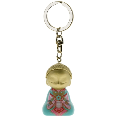 "Porte clés Mini Figurine Little Buddha ""Imagine"""