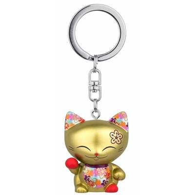 Porte clés Mini Figurine Mani the lucky cat N°61