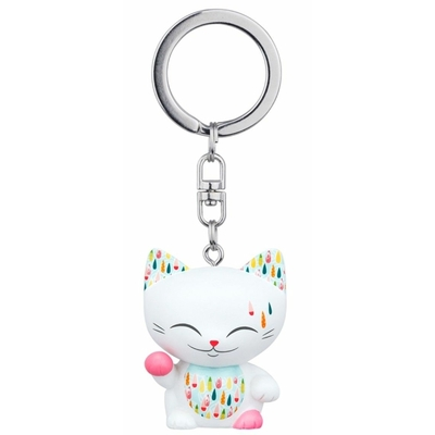Porte clés Mini Figurine Mani the lucky cat N°64