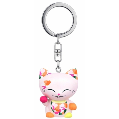 Porte clés Mini Figurine Mani the lucky cat N°65