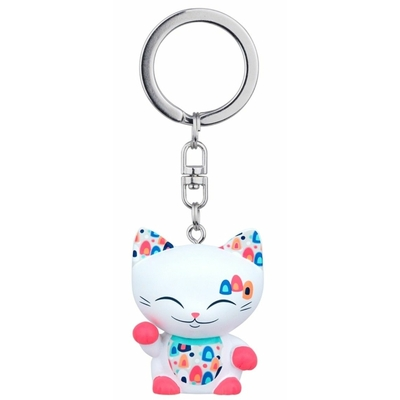 Porte clés Mini Figurine Mani the lucky cat N°66