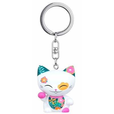 Porte clés Mini Figurine Mani the lucky cat N°67
