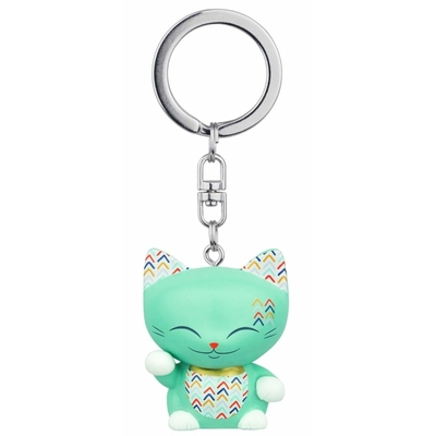 Porte clés Mini Figurine Mani the lucky cat N°68