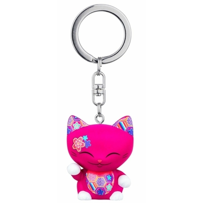 Porte clés Mini Figurine Mani the lucky cat N°70