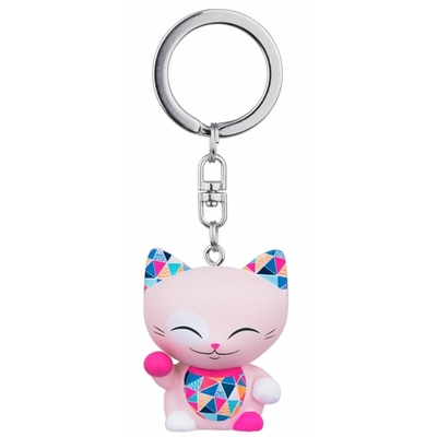 Porte clés Mini Figurine Mani the lucky cat N°71