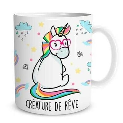 """Mug """"Licorne"""" : Créature de rêve"""