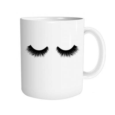 """Mug """"Cils"""" : Un café cils vous plait"""