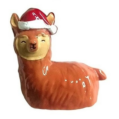 Baume à Lèvres kawaii Lama de Noël
