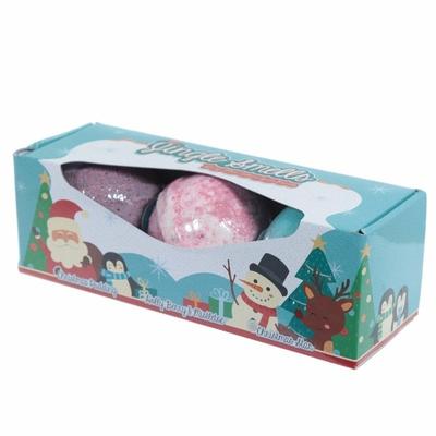 Lot de 3 Boules de Bain Noël