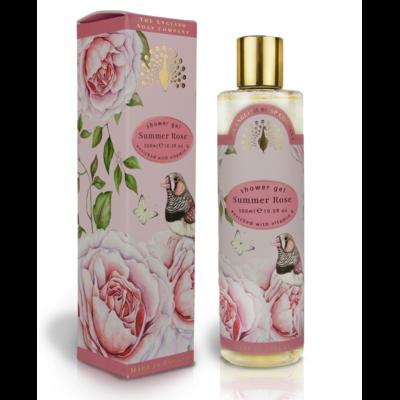 Gel Douche Cadeau : Rose d'été