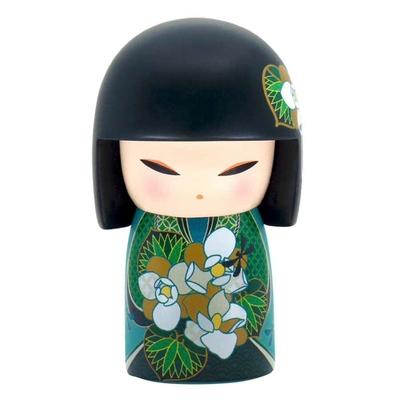 "Poupée japonaise kokeshi Kimmidoll Nonoko ""Insouciance"""