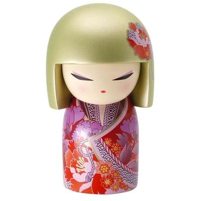 """Poupée japonaise kokeshi Kimmidoll Ayana """"Haute en Couleur"""""""