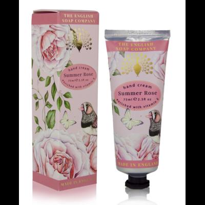 Crème Mains : Rose d'été