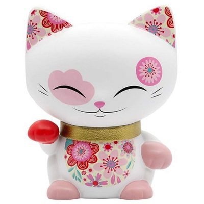 Figurine Chat porte bonheur Mani the lucky cat N°91