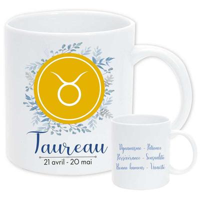 "Mug ""Astrologique"" : Taureau"