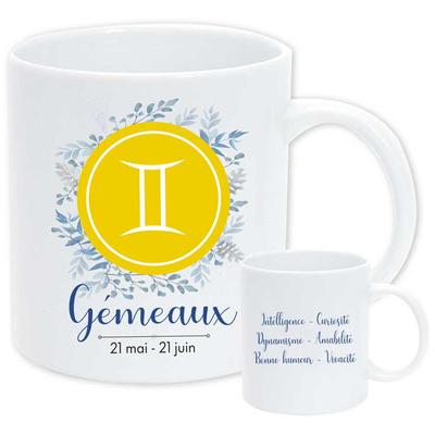 """Mug """"Astrologique"""" : Gémeaux"""