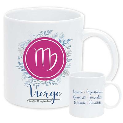 """Mug """"Astrologique"""" : Vierge"""