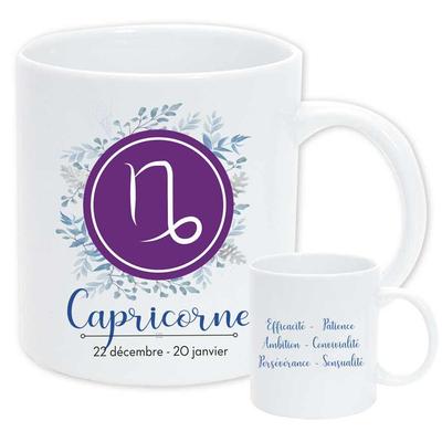 """Mug """"Astrologique"""" : Capricorne"""