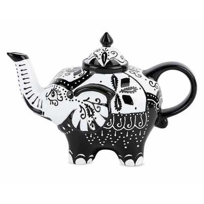 Théière en Porcelaine design éléphant I