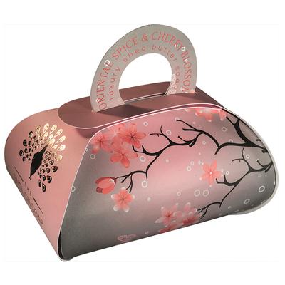 Savon ballotin cadeau :  Fleurs de cerisier aux épices orientales