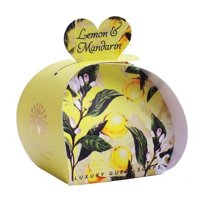 Savon ballotin cadeau d'invité : Citron et Mandarine