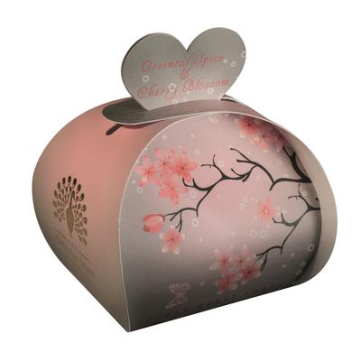 Savon ballotin cadeau d'invité : Fleurs de cerisier aux épices orientales