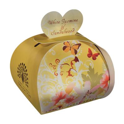 Savon ballotin cadeau d'invité : Jasmin blanc et Bois de santal