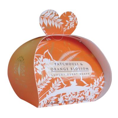 Savon ballotin cadeau d'invité : Patchouli et Fleur d'Oranger
