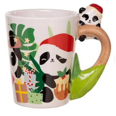 Mug de Noël Petit Panda