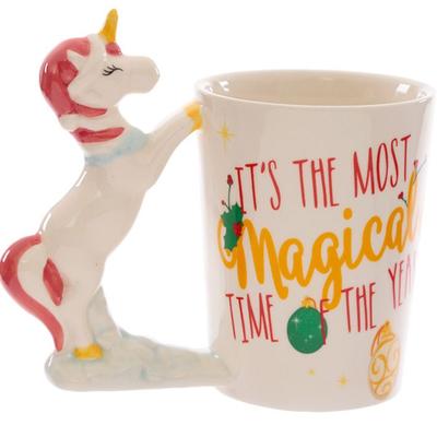Mug Licorne de Noël