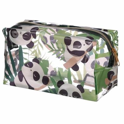 Trousse de Toilette Transparente Panda