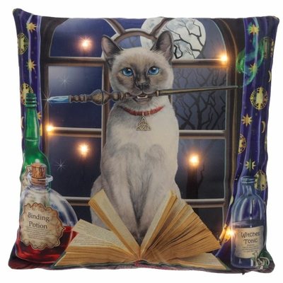 Coussin Led Chat Hocus Pocus Lisa Parker