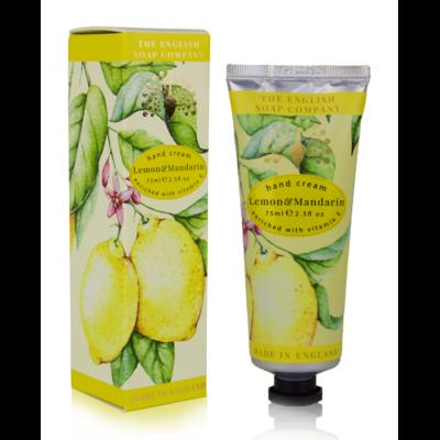 Crème Mains : Citron et Mandarine