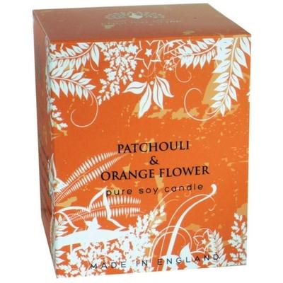 Bougie 35 heures : Patchouli et Fleur d'Oranger
