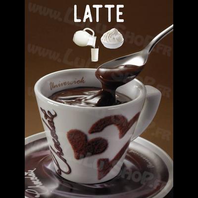 Chocolat chaud italien Saveur : LATTÉ