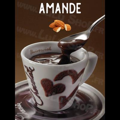 Chocolat chaud italien Saveur : AMANDE