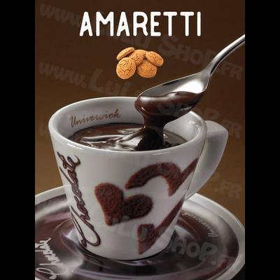 Chocolat chaud italien Saveur : AMARETTI