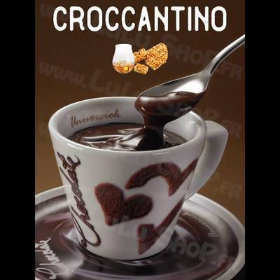 Chocolat chaud italien Saveur : CROCCANTINO
